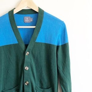 Hawkins McGill colorblock cardigan sz small